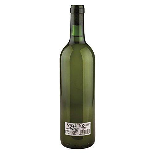 Señorio de Melvin Vino Turbio Blanco de 11º - Paquete de 12 botellas de 75 - Total 900 cl