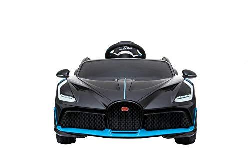 DAKOTT Bugatti Divo Ride On Car for Kids, Black, Large