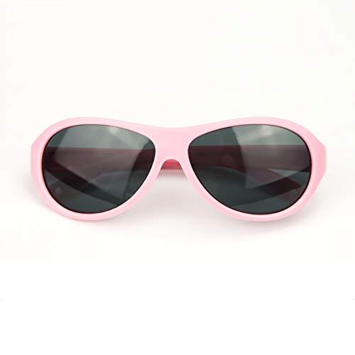 Happy Together Happy Together Kinder Sonnenbrillen Jungen und Mädchen Mode Baby Sonnenbrillen UV-Sonnenbrillen polarisierte Gezeiten (Farbe : A)
