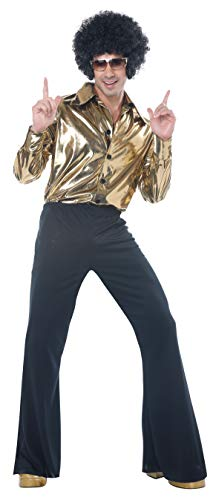 California Costumes Men's Disco King-Adult Costume, Gold, Large