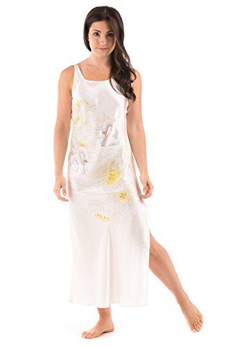 White Silk Women