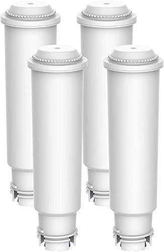 Maxblue F088 TÜV SÜD Zertifiziert Kaffee Filter, Kompatibel mit Krups Claris F088 Melitta Pro Aqua, Passt Viele Modelle von AEG, Bosch, Siemens, Nivona, Melitta, Neff und Mehr (4)