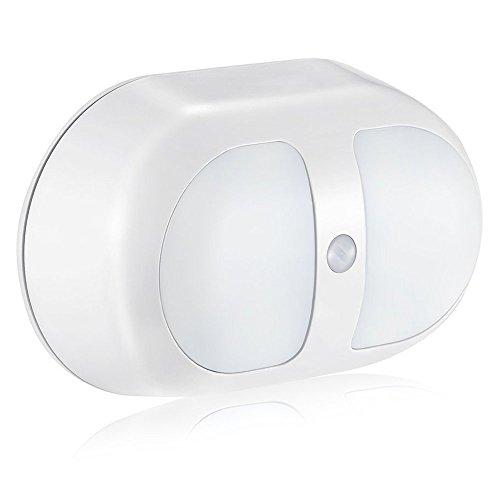 センサーライト 室内 人感 iitrust 電池式 光センサーライト ウォールタイプ キャビネットライト 夜間ライト 電源コードレス センサーライト 室内 電池 緊急時用ライトとしても使える 省エネ 階段 クロゼット 玄関 両面テープ 日本語取り扱説明書付