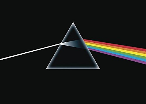 Close Up Póster Pink Floyd - The Dark Side of The Moon (91,5cm x 61cm)