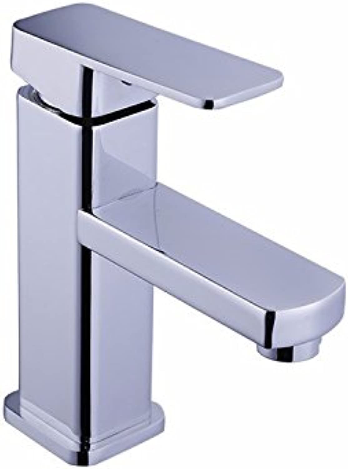 MDRW-Single hole basin faucet, single square faucet, cold and hot water basin faucet, basin faucet on Taiwan