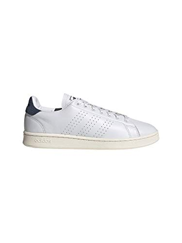 adidas Advantage, Zapatillas de Tenis Hombre, FTWBLA/FTWBLA/AZMATR, 46 2/3 EU
