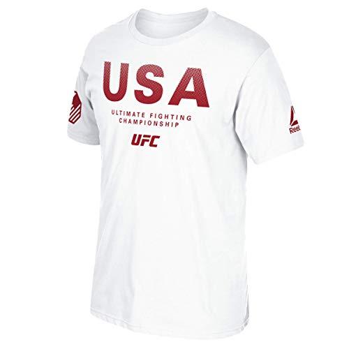 Reebok UFC Mens Country Pride Short Sleeve Tee