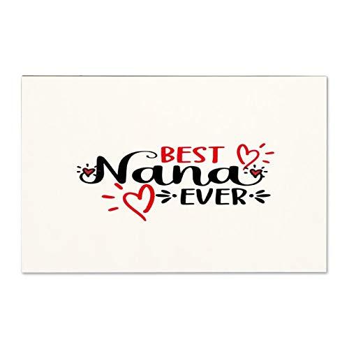 Cartello in legno con scritta 'Best Nana Ever inspirational', con scritta in lingua inglese 'Not Brand' (lingua italiana non garantita)