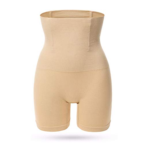 DOCOLA Sexy Women High Waist Shaping Control Panties Breathable Body Shaper Slimming Tummy Underwear Panty Shapers