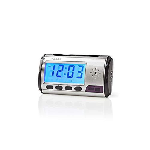Uhr Kamera Wecker Digital Überwachung Camera SD Karte Spionage Camcorder Spy Cam