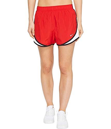 Nike Women's Dri-fit Tempo Track 3.5 Short (Sport Red/White/Black/Wolf Grey, Small)