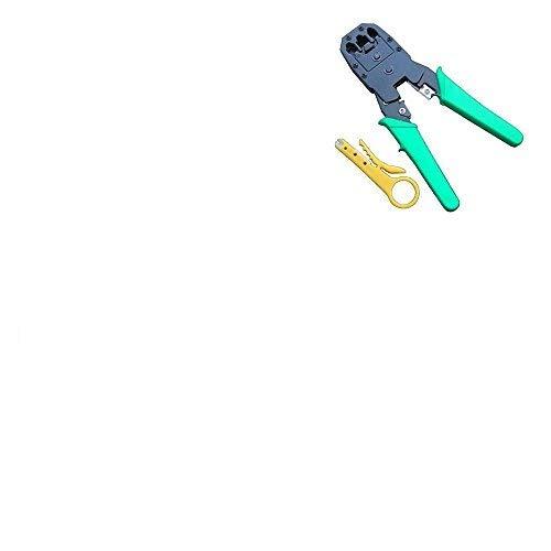 Netzwerk LAN-KIT RJ45Cat5e Rj11PC Kabel Tester Crimp-Crimper Punch Werkzeug