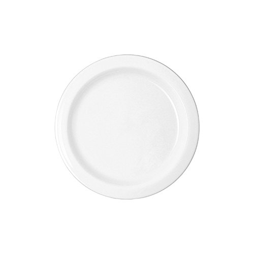 WACA® 6066-710 Speisenteller Kunststoffteller 215 mm ∅ 215 mm weiß