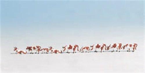 Noch 36723 - Kühe Figuren, braun/weiß