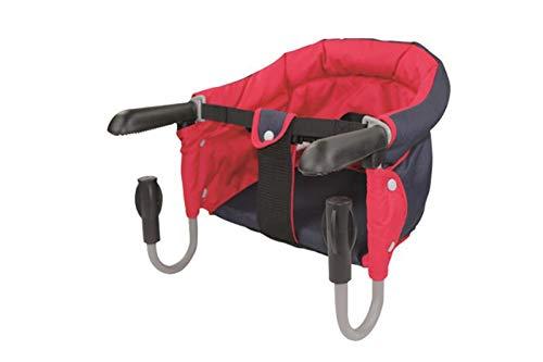 Tischsitz Kind Kleinkind Baby Babysitz Haberkorn Rot-Blau