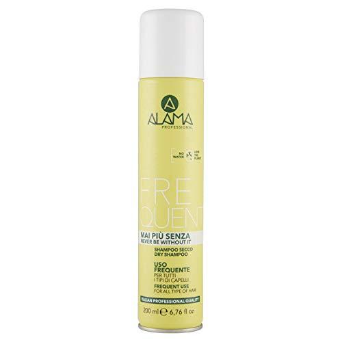 Alama Professional Shampoo Secco per Tutti i Tipi di Capelli, 200ml