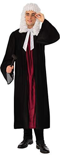Robe juge Collier & Costume de déguisement - Taille Unique [Jouet]