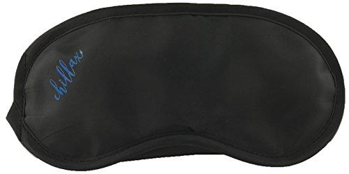 Chillax slaapmasker zorgt voor een goede en diepe slaap in het hele donker | slaapbril in eenheidsmaat door elastische band | perfecte comfortabele pasvorm voor mooie dromen