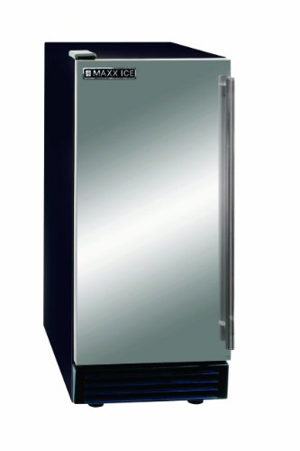 Maxx Ice MIM50 Self Contained Ice Maker, 50-Pound