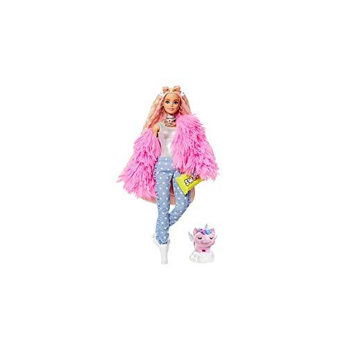 Mattel Chaqueta Barbie Extra Rosa