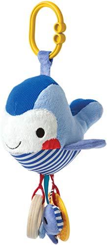 Manhattan Toy Link et de jeu Whale Anneau de dentition et hochet jouet de voyage