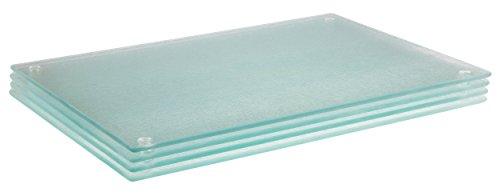 Premium-Schneidebrett aus Hartglas - 20 x 30 cm