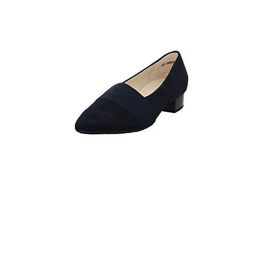 Peter Kaiser Zapatos de tacón para mujer Lagos-A, de piel y tela, color azul, color Azul, talla 37 EU