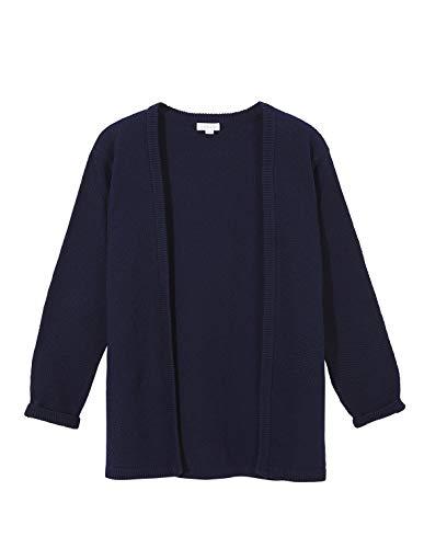 Gocco Punto de Arroz Chaqueta, Azul (Marino S03jchca101a4), 4 años (Tamaño del Fabricante: T: 4-5) para Niñas