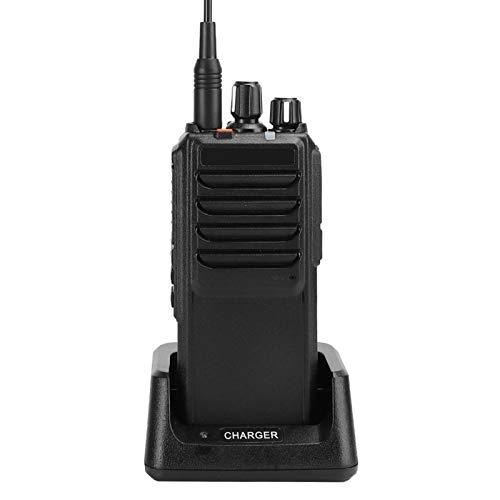 Qqmora Coche Walkie Talkie Radio bidireccional Mini portátil Durable para Coche Accesorio para Viajes