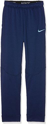 Nike B NK Dry Taper FLC Pantalon de survêtement pour Enfant L Bleu (Binary Blue/Cerulean)