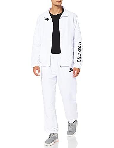 Kappa Jungen Anton Trainingsanzug, Blanc, Medium