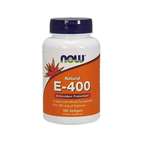 Vitamina E 400 ui (100 softgels) Now Foods