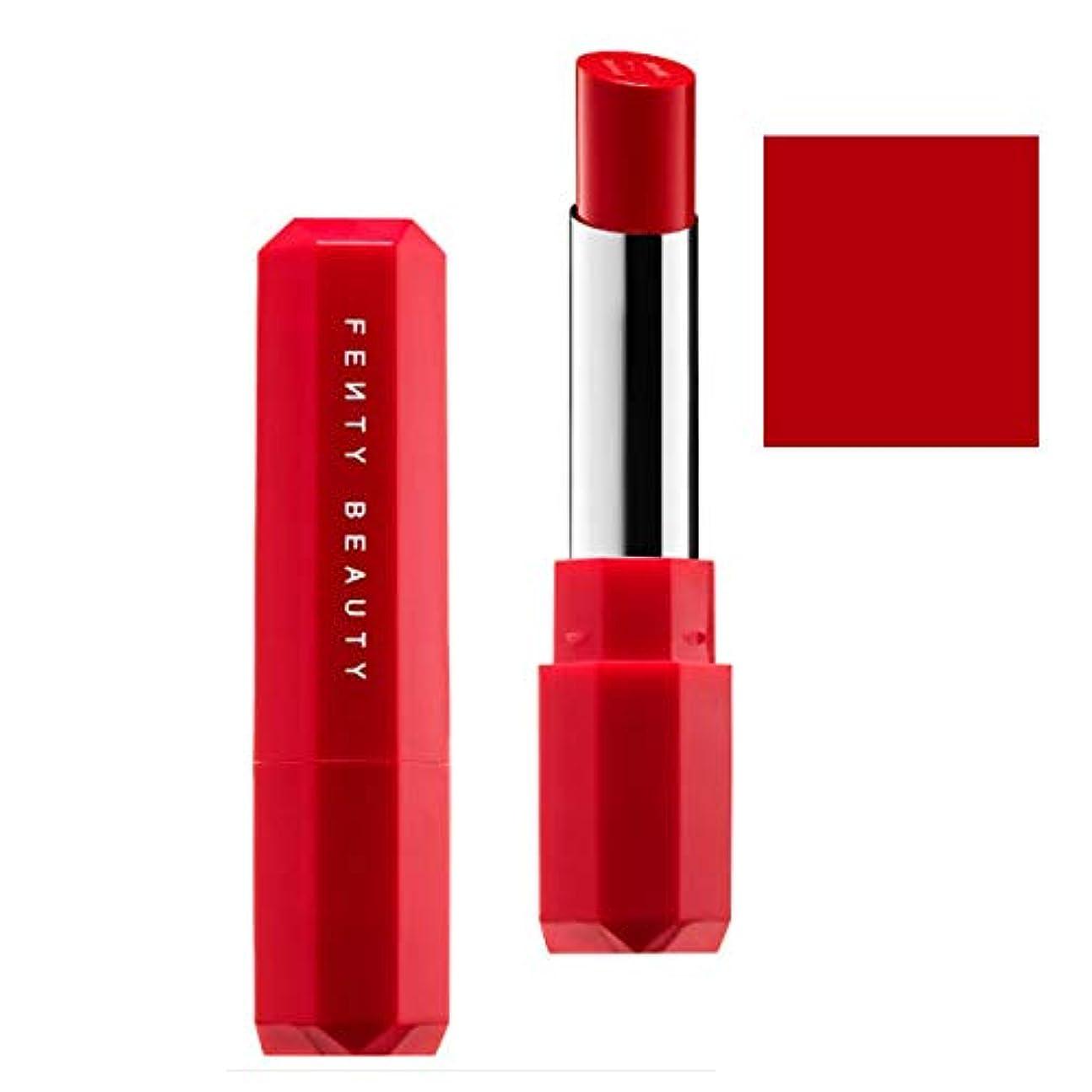 承知しました野な勇敢なFENTY BEAUTY BY RIHANNA,New!!, 限定版 limited-edition, Poutsicle Juicy Satin Lipstick - Hot Blooded [海外直送品] [並行輸入品]