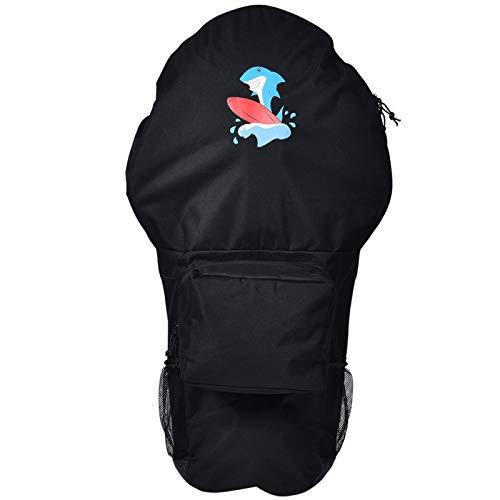 Omabeta Bolsa de tabla de remo de agua de material premium, color negro, apta para viajes, vacaciones en la playa, surf para adultos