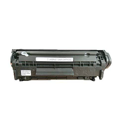 Para el cartucho de tóner HP Q2612A, es fácil agregar polvo. Para el cartucho de tóner M1005MFP 1010 1020PLUS 12A, puede imprimir 2000 páginas. El negro no dañará la impresora