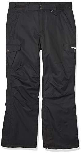 ARCTIX Kids Cargo Snow Pants, Medium, Black