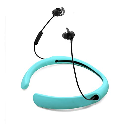 USSJ Silicone Neckhand Case Cover for Bose Quietcontrol 30 Hearphone,Swearproof Cover Skin. (Mintgreen)