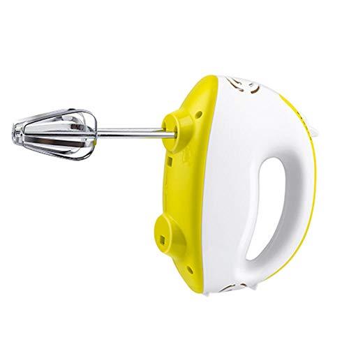 Schneebesen Elektrisch,Handmixers,120 Watt Handrührgerät, 5 Geschwindigkeitsstufen + Turbo-Funktion, inkl. Schneebesen, Knethaken