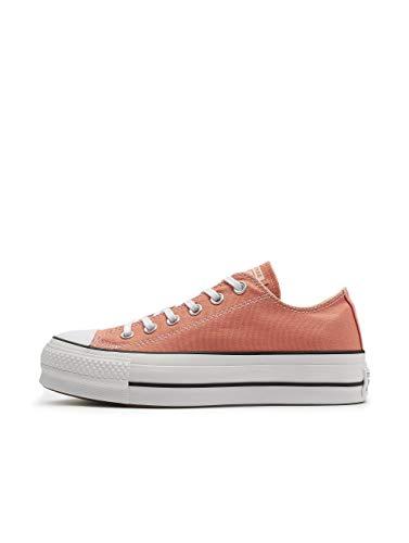Converse Damen Chuck Taylor All Stars Sneaker, Apricot Weiß, 37 EU