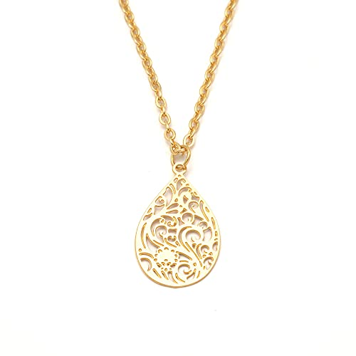 Halskette Damen Kette Lucil Gaia Line Farbe gold