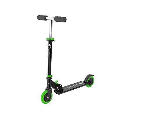 INVIDA Speedy One Kids-Racer Kinder Scooter Roller Kickscooter Funscooter Cityroller (Grün)