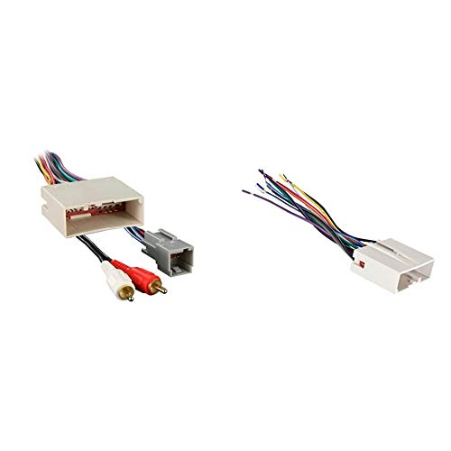 Metra 70-5521 Radio Wiring Harness for Ford 03-Up Amp & Metra Electronics...