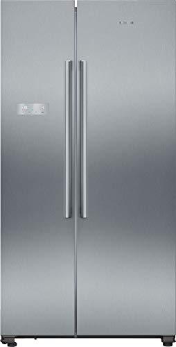 Siemens KA93NVIFP iQ300 - Frigorífico lateral americano (A++, 363 kWh/año, 560 l, noFrost, superCooling, freshSense, multiflujo de aire)