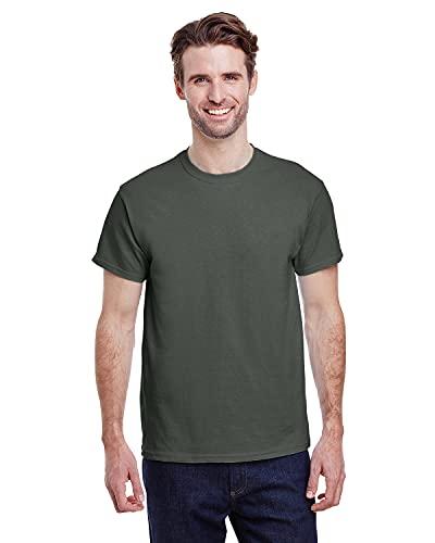 Gildan Men's G2000 Ultra Cotton Adult T-shirt, Military Green, Large