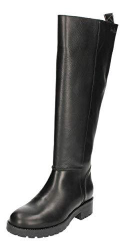 haghe by HUB Damenschuhe - Stiefel MIRA L80 - Black, Größe:38 EU