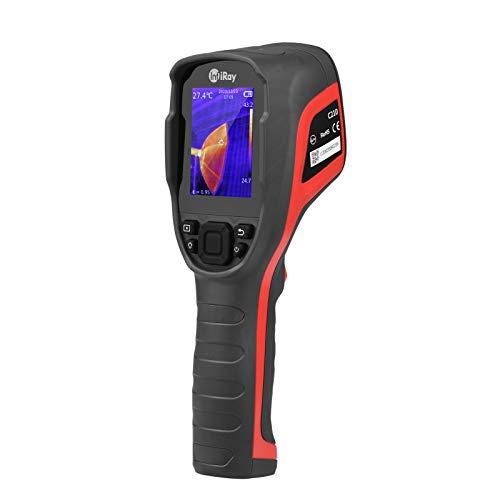 -20~550 ℃ Cámara termográfica infrarroja digital KKmoon LCD de 2,8 pulgadas Cámara termográfica infrarroja de mano Resolución IR 256 * 192 con tarjeta de almacenamiento 16G para vehículos HVAC