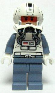 LEGO Star Wars - Figura de piloto clon del Episodio III (del Juego 8088)