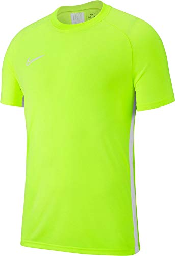 Nike Academy19 Training Top Maillot Enfant Volt/Blanc/Blanc FR : XS (Taille Fabricant : XS)