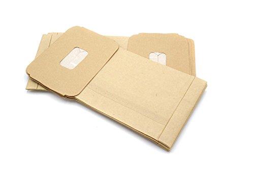 vhbw 10 Papier Staubsaugerbeutel Filtertüten für Staubsauger Saugroboter Mehrzwecksauger wie Swirl PH 81