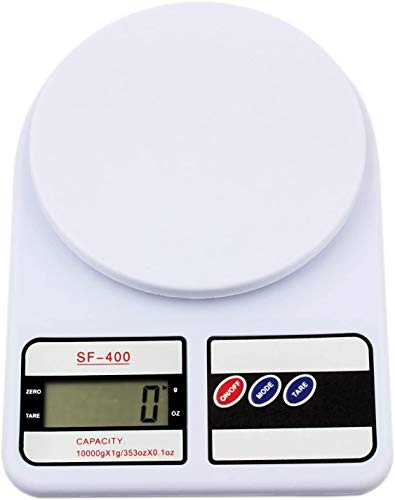 Hancoc Herramienta de cocción de la Escala de Alimentos de la báscula de Cocina Digital de 10 kg